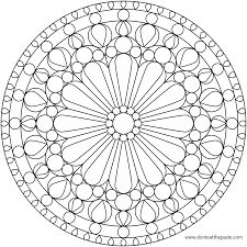 Small Picture Printable Mandala Coloring Pages For Adults Coloring page