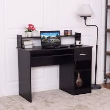 modern wood office furniture. Modern Wood Computer Desk Workstation With Drawer And Shelf Storage Office Furniture