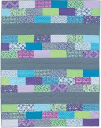 20 best Easy Weekend Quilts images on Pinterest | Baby quilts ... & Super simple row quilt: