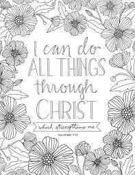 Free Printable Bible Coloring Pages With Scriptures To Print