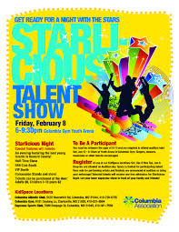 Talent Show Flyer Final Call For Starlicious Talent Show Auditions CA Today 9