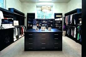 master closet islands island with drawers