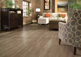 image of vinyl wood plank flooring at home depot