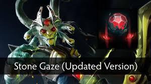 dota 2 medusa stone gaze updated version youtube