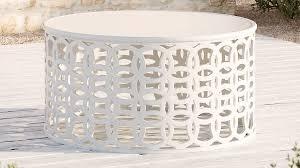lattice white aluminum outdoor coffee