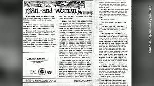 sanders distances himself from dumb rape essay cnnpolitics bernie sanders wrote about rape fantasies in 1970s