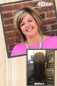 Blonde Highlighted Hair With Shadow Root