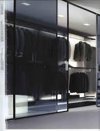 dark sliding glass closet doors