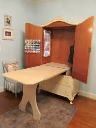 project organized home office armoire. DIY Sewing Cabinet Transformation Of An Antique French Armoire Into A With Project Organized Home Office