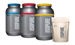 groupon isopure zero carb whey protein isolate 1 or 3 lb