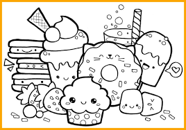 Stick Man Coloring Pages New Unique Kawaii Food Coloring Pages Pics