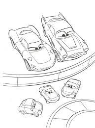 Kleurplaten Cars