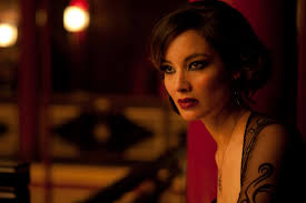 we saw skyfall today and i wanted to pin some makeup inspiration from bond berenice marlohe she is gorgeous