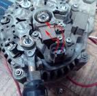 Генератор для газели с двигателем крайслер