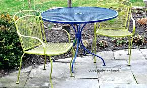 lovely repainting metal outdoor furniture or paint metal patio furniture spray painting metal outdoor furniture 79 refinish metal patio table