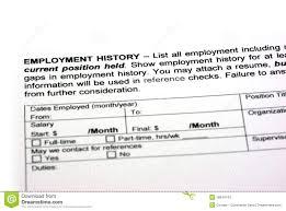 employment history stock photos image 16944743 employment history