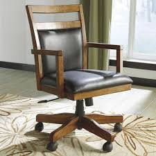 wood home office desk. found it at wayfair fowler midback office chair with arms wood home desk