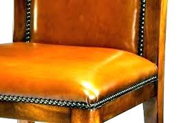 orange chair cushions leather seat pads for dining chairs replacement extra medium size of burnt outdoor bur
