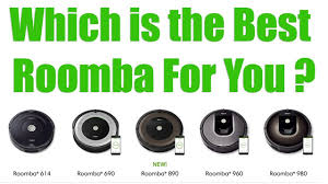Roomba Comparison Chart 2018 Roomba Models Compared 980 Vs 960 Vs 890 Vs 690 Vs 614 Vs 650 Irobot Robot Vacuum Reviews