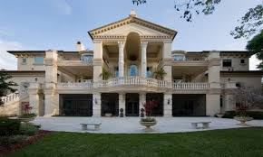 Luxury Powder Rooms Ancient Roman Villa Floor Plan Style