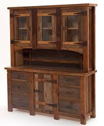 sideboard and hutch. Interesting And Barnwood Hutch Heritage 4 Doors 6 Drawers With Sideboard And R