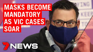 Victorian premier daniel andrews arrives in a mask to speak to the media during a press conference. Coronavirus 363 New Cases 3 Deaths And Masks Mandatory In Victoria 7news Youtube