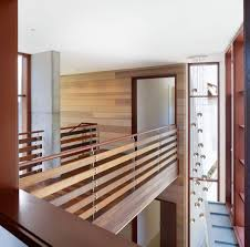 Interior Bridge - modern - hall - los angeles - by Rockefeller Partners  Architects- More protective railing