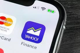 yahoo finance icon. Modren Finance SanktPetersburg Russia April 27 2018 Yahoo Finance Application Icon On  Apple To Finance Icon
