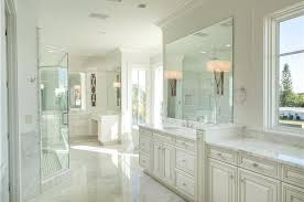 White Master Bathroom Ideas Traditional White Master Bathroom With