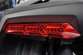 lamborghini sesto elemento inside. lamborghini sesto elemento concept in detail \u2013 tail light closeup inside o