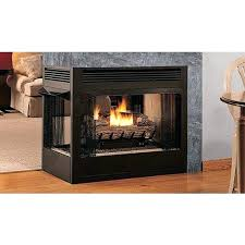 ventless natural gas fireplace insert property ideas best double sided natural gas fireplace insert double sided