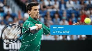 Miloš raonić (en montenegrino милош раонић; Novak Djokovic Negates Milos Raonic Australian Open 2020 Day 9 Youtube