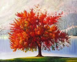 realistic tree painting 26