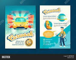 Free Car Wash Flyers Designs Automatic Car Washing Image Photo Free Trial Bigstock