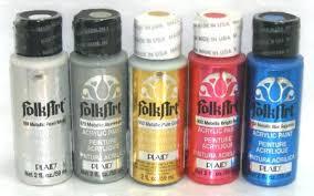 Folk Art Acrylic Paint Artist Color Conversion Chart With