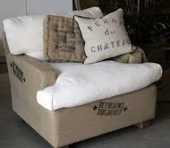 burlap furniture. this burlap furniture