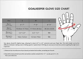 41 Hand Picked Goalkeeper Gloves Size Guide