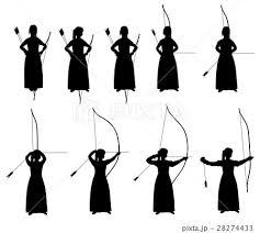 弓道袴のイラスト素材 Pixta