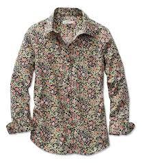wrinkle resistant fl shirt wrinkle resistant tered fl print shirt orvis