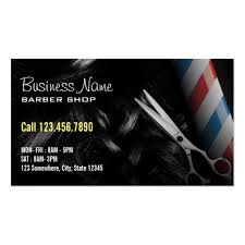 barbershop business cards barber shop business card templates bizcardstudio