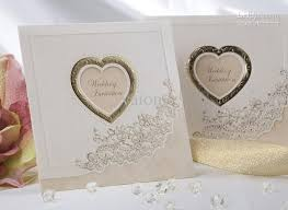 9 best wedding card images on pinterest Wedding Invitations Fast And Cheap new sweet love ivory wedding invitations wedding cards personalized invitations fast shipping Printable Wedding Invitations