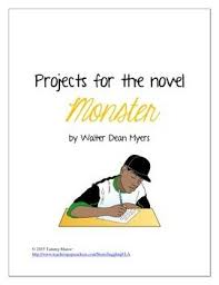 projects for the novel monster by walter dean myers dean novels  projects for the novel monster by walter dean myers