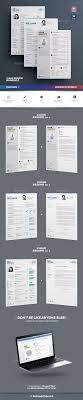Clean Resume Bundle Vol 2 Indesign Indd References Cover