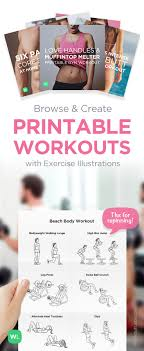 description visual pdf workouts with exercise ilrations for weight loss