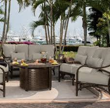 castelle resort fire pit 49 round coffee table