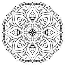 Free Printable Mandala Coloring Pages Children For Adults Only