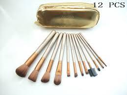 2 brushes set gold urban decay makeup 12 pcs whole mac