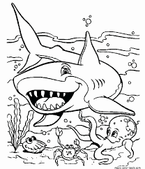 shark coloring pages printable awesome great white shark coloring elegant great white shark