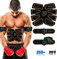Abs Stimulator Abdominal Muscle, EMS ABS Trainer ... - Amazon.com