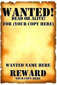 Wanted Poster Template For Pages Microsoft Office Publisher Wanted Poster Template Announcement